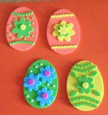 Handcrafted / Handmade Foam Easter Egg Magnets