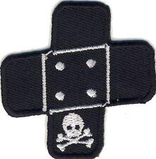 Pflaster Totenkopf - Plaster of Death Skull - Aufnäher Aufbügler Patch Neu #9195