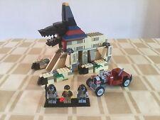 LEGO FARAONE's Quest 7326 aumento dell' Sphinx 100% COMPLETO + ISTRUZIONI