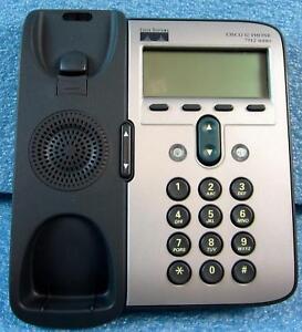 CISCO CP-7912G-A 7912 7900 SERIES IP PHONE TELEPHONE, NO HANDSET, BASE UNIT ONL