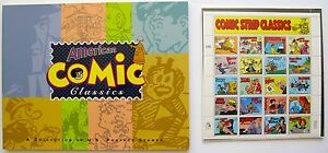 American Comic Strip Classics Book with 20 Postage Stamps U S Postal Service