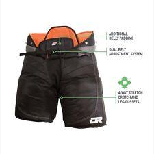"""New DR X60 Goal Pant ice hockey goalie pants size 34""""-36"""" Sr. senior XL black"""