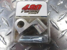 480 Racing Flag Mount : Silver : For Dirt Bikes