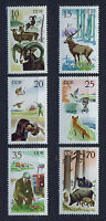 ALEMANIA/RDA EAST GERMANY 1977 MNH SC.1858/63 Hunting in East Germany