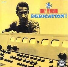 Dedication! by Duke Pearson (CD, Jan-2001, OJC)