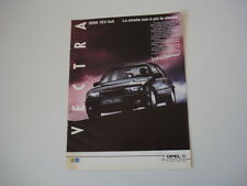 advertising Pubblicità 1991 OPEL VECTRA 2000 16V 4X4