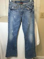 LUCKY BRAND Women's Sweet N Low Distressed Blue Jeans Size 0/25 Excellent