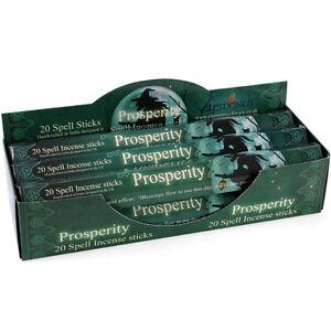 Elements Prosperity by Lisa Parker Incense Joss sticks. 20 sticks, 1 pack.