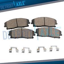 Front Ceramic Brake Pads w/Hardware for 2012 - 2014 2015 2016 Nissan Versa Note