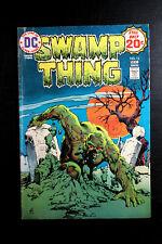 SWAMP THING #13 DC COMICS 1974 ~ CLASSIC NESTOR REDONDO COVER ~ LEN WEIN VG+