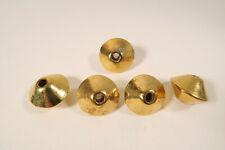 5 schwere große Metallperlen DK84 5 Old heavy Beads Asia Afrozip
