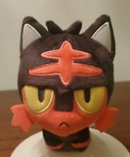 Pokemon CenterFire Ice Alola Litten Stuffed Animal Litten Plush toy Doll NWOT