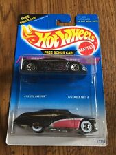 Hot Wheels 1:64 1994 Steel Stamp Series Twin Pack #1 & #2 of 4 Cars brand new