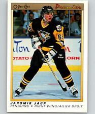 (HCW) 1990-91 OPC Premier #50 Jaromir Jagr MINT RC Rookie Penguins 07042