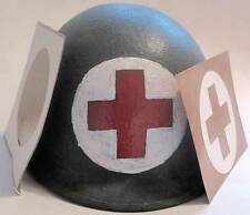 WW2 Medic Helmet Stencil USA Red Cross Medical First Aid M1 M2 M1C WWII decal