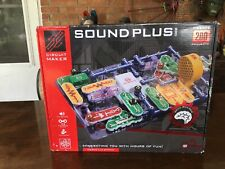 Sound Plus 200 Circuit Maker by Elenco Complete Set With instructions!