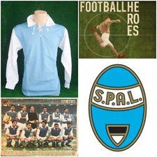 MAGLIA CALCIO SPAL 1960 STORICA SHIRT FOOTBALL VINTAGE RETRO 60'S JERSEY OLD