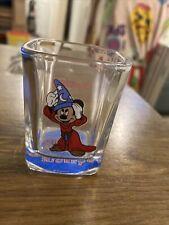 Vintage Shot Glass -  Disneyland Mickey Mouse, Sorcerer's Apprentice