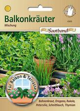 Balkonkräuter Mischung, Saatband, Kräuter Samen,  43905