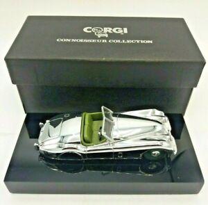 Corgi Connoisseur Collection Jaguar XK120 Open Top Chrome Diecast 1:43 Model