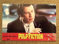PULP FICTION Original Lobby Card 7 JOHN TRAVOLTA QUENTIN TARANTINO Vincent Vega