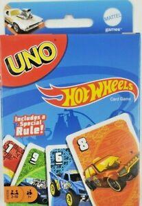 Hot Wheels UNO Card Game Mattel