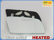 Wing Mirror Glass BMW SERIES 5 E-60 2003-08 Wide Angle HEATED Right Side #B006