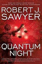 Quantum Night by Robert J. Sawyer (2016, Hardcover)