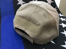 GREEN RIPSTOP Tactical Operator Contractor Adjustable Baseball Cap for Patches
