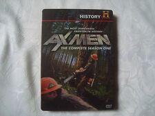AX MEN The COMPLETE Season 1 RARE OOP SteelBook 4 disc  History Channel DVD