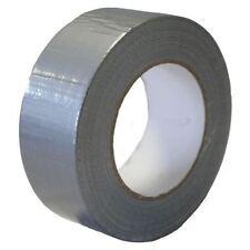 "Duct Gaffa Gaffer Waterproof Cloth Tape Silver Black 48mm 2"" x 50m black red"