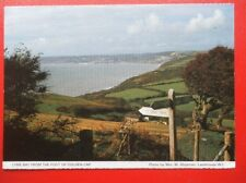 POSTCARD DORSET LYME BAY FROM THE FOOT OF GOLDEN GAP