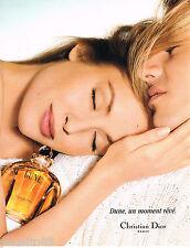 PUBLICITE ADVERTISING 055  1996  DIOR   parfum femme DUNE