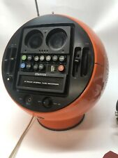 Weltron ORANGE 2010 8 track player and radio.  Space Ball Rare!