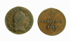 s284_43) AUSTRIA  JOSEPH II 1/4 KREUZER 1783 F = KM. 2051.2 Var U invece di V