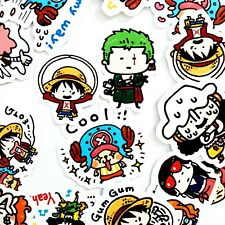 35 One Piece Stickers - Kawaii Stickers Journal, Diary Stickers, Scrapbooking