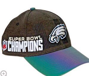 NEW Philadelphia Eagles 2017 Locker room Super Bowl 52 Champion Adjustable Hat