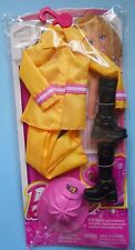 ABITO BARBIE CHJ28 I Can Be Firefighter Mattel 2014