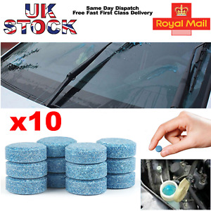 Diamond glass Car screen wash tablets  10 pack concentrated Screenwash UK SELLER