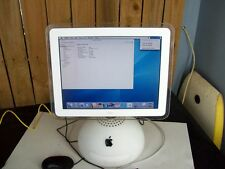 "Apple Imac G4 700MHZ 512MB Ram, 40GB HD 15"" Screen OSX 10.3.9"