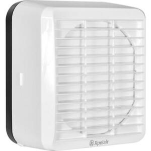 Xpelair GX6EC Kitchen Window Extractor Fan 6 inch With Auto Shutters (071262)
