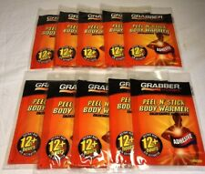 Grabber Peel N' Stick Body Warmer 10 Packs