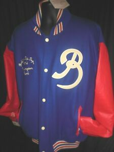 Brooklyn Tip Tops MLB Men's Common Union Front Snap Jacket 3XL