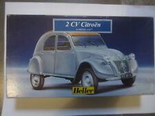 2 CV CITROEN Scale 1/43 Marca HELLER  Nuevo en caja