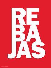 Cartel Rebajas. Cartel de PVC by akrocard