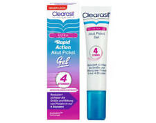 3 X Clearasil Ultra Rapid Action GEL 15ml - Results in 4 Hours