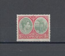 More details for st kitts nevis 1938-50 sg 77 mnh cat £65