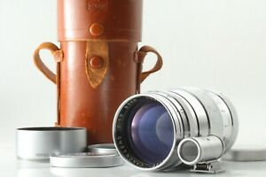 [Near MINT in Case] Canon L 85mm f1.9 Lens L39 Leica Screw Mount LTM Hood JAPAN