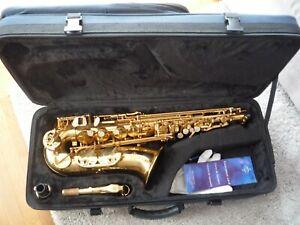 Saxophon Saxofone Sax Buffet Crampon & Cie A Paris Altsaxophon