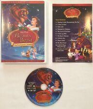 RARE OOP BEAUTY AND THE BEAST ENCHANTED CHRISTMAS SPECIAL EDITION DVD 2002